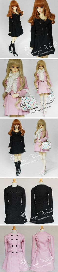 1/3 Dressy Overcoat - 2 colors_-outer wear_CLOTHES-for 1/3_welcome to SW&doll workshop!^_^ - black