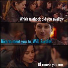 First time Will and Christina meet love this scene