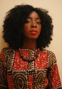 It's a Go on the Fro - mahogany-soul: Mahogany portraits serie by Me. ...