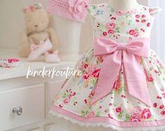 Girls Infant Toddler Easter Evelyn Dress by KinderKouture on Etsy