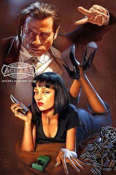 'Pulp Fiction' by Michel Achard