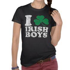 I Shamrock Irish Boys Shirts