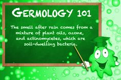 Do you know where that great, after-rain smell comes from? #rain #rainsmell #soil #bacteria https://plus.google.com/+WeserviceBiz/posts/Mngg3YPjVTn