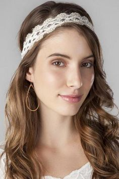 Brookhaven Lace Head Wrap