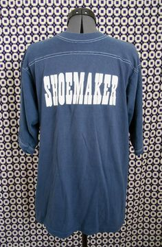 vintage 70s t shirt Shoemaker by RobsVintique on Etsy, $17.00