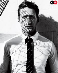 Ryan Gosling for GQ #noir #film / Mario Testino