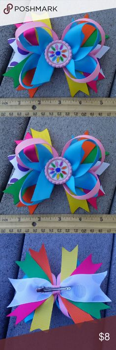 Girls scouts daisy hair bow Taking order for custom team bows minimum per styles 8 pieces Accessories Hair Accessories