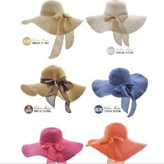 Women Spring Beach Hat Wide Brim Straw Hat Bowknot Summer Hat Anti Sun Hat  Women s Hats c6612c88e51c