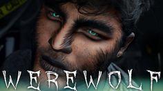 Werewolf Halloween Makeup Tutorial | 31 Days of Halloween