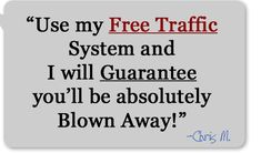 "Are you part of the 40 million webmasters, worldwide, who are desperate for visitor traffic... but until now you have been unsuccessful in getting any? If you're like the others, you've spent a good hunk of cash on marketing courses, ebooks, and ""guru"" audio interviews.  We have great news for you. But first, let's take a short quiz. Just one question: If you double a penny every day for a month and what do you get?"
