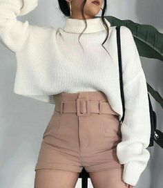 Korean Outfits, Mode Outfits, Cute Casual Outfits, Pretty Outfits, Stylish Outfits, Beautiful Outfits, Korean Clothes, Girls Fashion Clothes, Teen Fashion Outfits