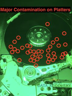 Checked in a Western Digital My Passport 1TB drive that has so much contamination. The drive was previously taken to another Data Recovery company that opened up the drive. We were shocked when we saw the level of contamination that our customers drive had. ** If your data is IMPORTANT, take it to a Data Recovery Company that has the training, tools, and resources**.