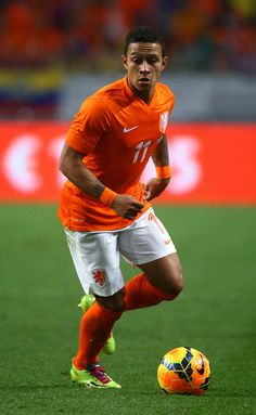 Memphis Depay of Holland