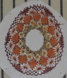 Bobbin Lace, Tree Skirts, Creations, Christmas Tree, Holiday Decor, Cross Stitch, Sewing, Egg, Decorations