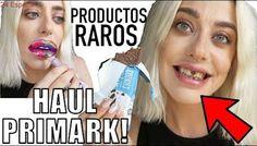 HAUL PRIMARK | PROBANDO PRODUCTOS DE BELLEZA RAROS LOW COST