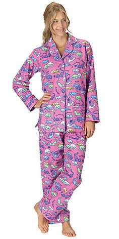 Cat Nap Flannel Pajamas $59.99