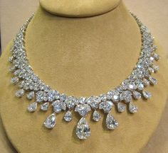 Most Expensive Jewelry Designers | ... : Diamond Necklace Patterns , Diamond Set jewels , Necklace Designs