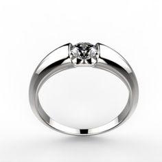 Round Brilliant Diamond Engagement Ring - I Do