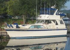 1972 Chris-Craft Commander 47 Power Boat  I love this Model!!! 3 staterooms, large salon and aft entertainment area! I've boarded 4-5 of these cruisers when I was shopping for a boat and they are very nice!