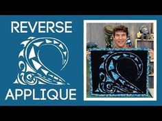 Easy Reverse Applique: Quilt Tutorial with Rob Appell of Man Sewing - YouTube
