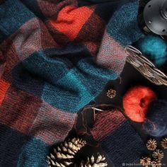 Купить Buffalo shawl (описание) - платок, подарок, шаль, женский, вязание, аксессуары, Авторский дизайн