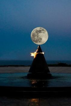 My friend took this picture of the super moon while visting Japan.
