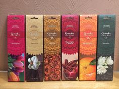 Incense Pouches sticks) - Autumn Fair 2018 - The Season's Gift & Home Trade Show Incense Packaging, Fruit Packaging, Types Of Packaging, Beer Packaging, Food Packaging Design, Packaging Design Inspiration, Branding Design, Ganesha, Chocolate Packaging