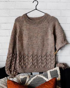 Ravelry: The Faye Sweater pattern by Darling J'Adore Sweater Knitting Patterns, Knit Patterns, Patchwork Quilt Patterns, Knitting Magazine, Winter Sweaters, Knitted Blankets, Cardigans For Women, Knitwear, Knit Crochet