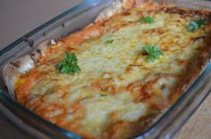 Fotorecept: Enchiladas - plnené tortily