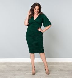 Okay, I want everything from this site. Rumor Ruched Dress // $118