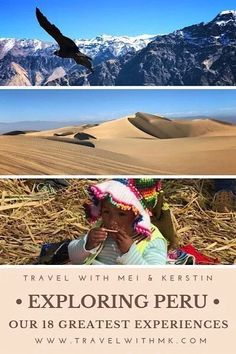 Peru was a dream. Within 3 weeks we explored unaccountable things. Here are our unforgettable experiences in Peru. Peru Beaches, Lake Titicaca, Peru Travel, Explorer, Travel Checklist, South America Travel, North America, Travel Guides, Travel Tips