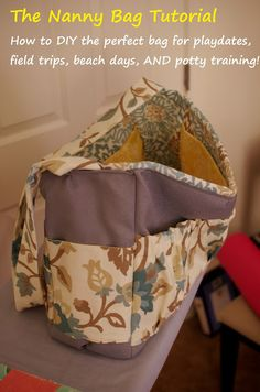 Silver Rose Sewing: The Nanny Bag Tutorial