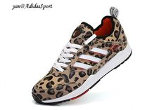Unisex Adidas Originals Tech Super 2.0 Leopard Shoes Pale Nude / White / Black / Red HOT SALE! HOT PRICE!