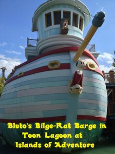 Popeye & Bluto's Bilge-Rat Barges / Islands of Adventure Tips & Secrets - Top Tips for Islands of Adventure park at Universal Orlando in Florida at http://www.buildabettermousetrip.com/islands-of-adventure-tips/