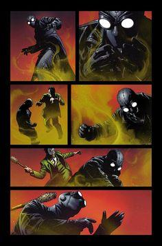 First Look at Edge of Spider-Verse #1 – Spider-Man Noir