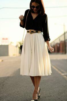 2011 Zara top, madewell skirt,vintage belt, Miu Miu glitter pumps, Tusk bag.
