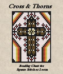 Cross & Thorns Beading Chart - Item Number 18411