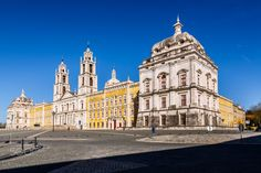 Palace of Mafra - The Palace of Mafra is a monumental Baroque and Italianized Neoclassical palace-monastery located in Mafra, Portugal, some 28 kilometres from Lisbon.