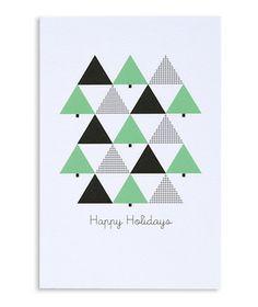 """Happy Holidays"" Holiday Postcards"
