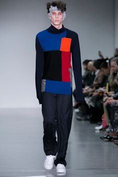 A look from the Agi & Sam Fall 2015 Menswear collection.