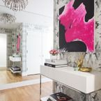 Textile Designer Caitlin Wilson's Colorful + Happy Home Tour - Style Me Pretty Living