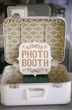 #Vintage suitcase. Click through for a tropical inspiration board! (Photo by Chenin Bouwell)