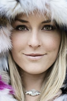 Lindsey Vonn. Talk about your Snowbunnies!!  She is an inspiration to all us lady skiers!