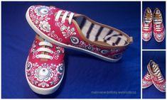 Tenisky, botasky :: malované botičky