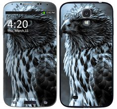 Skin Celular Águia Samsung Galaxy S4
