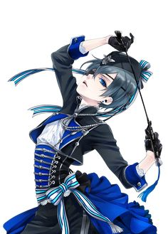 "funtomscandy: ""Ciel Phantomhive -Figure design- by Yana Toboso *Transparent* """