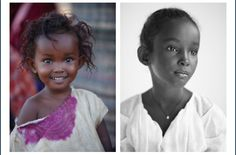 Then & Now Her name is Safa Idriss Nour - - stunningly beautiful