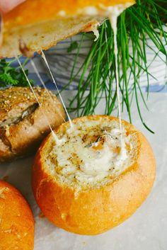 Wild Mushroom & Gruyère Egg Baskets - The Londoner