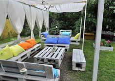pallets garden lounge