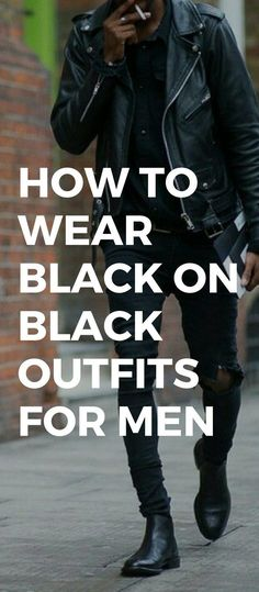 How To Wear Black On Black Outfits